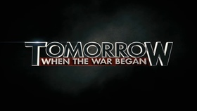 Tomorrow when the war began poster article