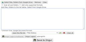 Google drive to imgur interface article