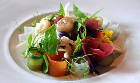 Restaurant noma  marv med syltede gr%c3%b8ntsager   %c2%a9 cyclonebill  via flickr article