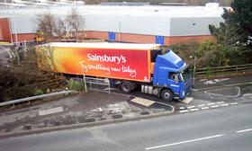 Sainsbury lorry 007 article