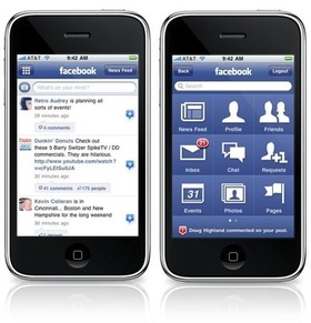 Facebook 3 app for iphone ipod touch article