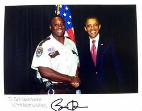 Ed hawthorne and barack obama article