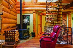 Boisvert cabin article