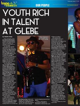 Youth rich in talent at glebe page 001 article
