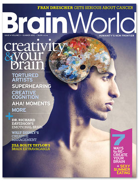 Brain world 12 cover article