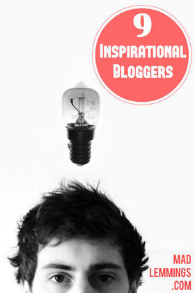 Inspirational bloggers article