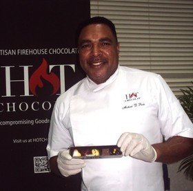 Chocolatier   chef michael poole at barbados chocolate   pastry festival 2016   photo credit seawoman creative media article