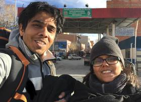 Sandeepa and chetan bolivia article