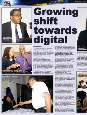 Growing shift towards digital page 001 article