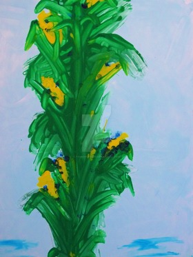 Corn stalk by tammyruggles d8pwv0a article