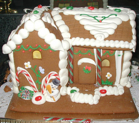 Ginger bread house article