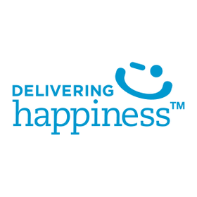 Delivering happiness logo article