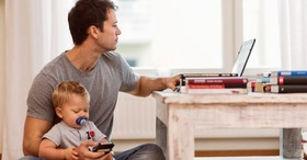 Working dad article