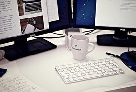 Cup mug desk office article
