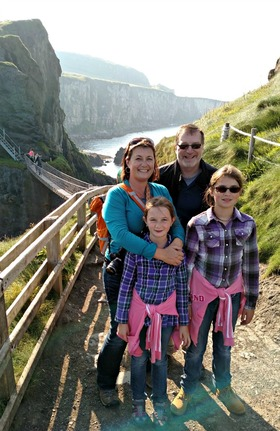 Across the carrick a rede rope bridge  county antrim article