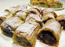 Filo dough web article