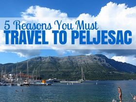 Travel to peljesac article
