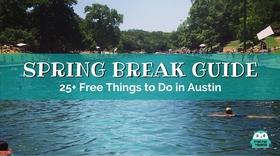 Spring break guide article