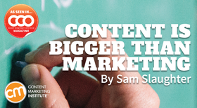 Content bigger marketing cover article
