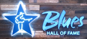 Blues hall of fame memphis sign article