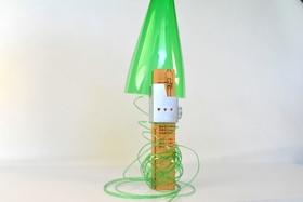 Plastic bottle cutter article