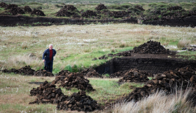 Peat mining stacy article