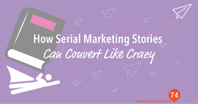 Serial marketing blogs article