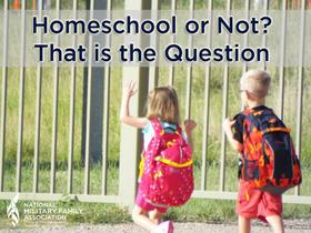 Homeschool military kids article