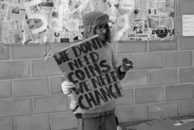 Homeless we dont need coins we need change2 article