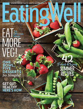 Eating well cover article