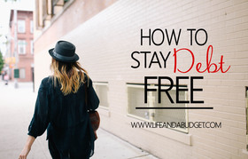 How to stay out of debt fi article