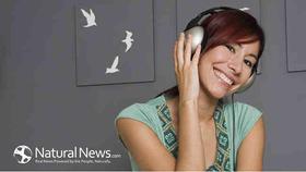 Woman sofa music headphones 650x article
