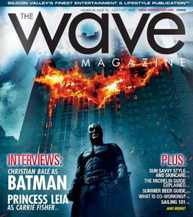 The wave vol 8 issue 15 batman article