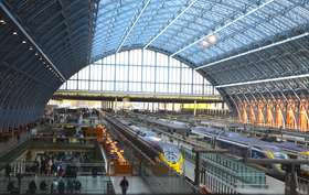 Interior of st pancras station article