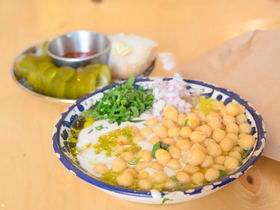 Finished hummus article