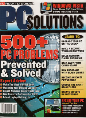 Pc solutions cover article