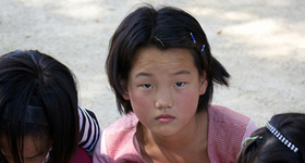 Girls in north korea article