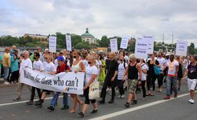 Lgbt sterilization protest article