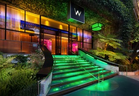 W hotel exterior article