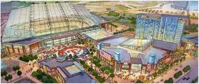 2864 closed roof rendering of new texas raners stadium article