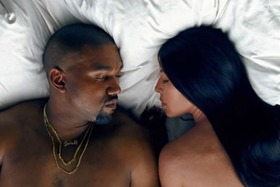 Kanye west kim kardashian famous video article