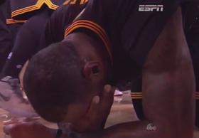 Lebron tears article