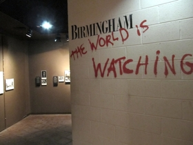 Bomb in birmingham civil rights institute world is watching article