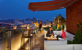 Rooftop bar at 21c museum hotel article