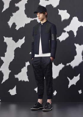 Neil barrett neoprene jacket  915 article
