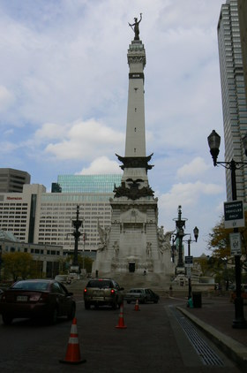 Driving  downtown indianapolis article