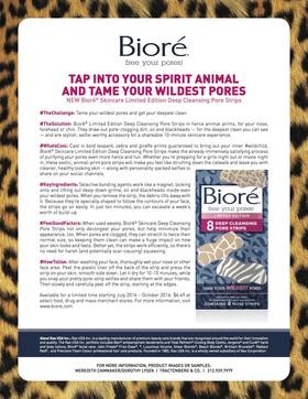 Biore limited edition pore strips 2016 article