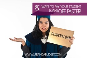 8 ways to pay student loans faster article