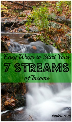 Easy ways to start your seven streams of income article