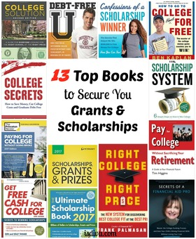 Books secure you grants and scholarships financial aid article